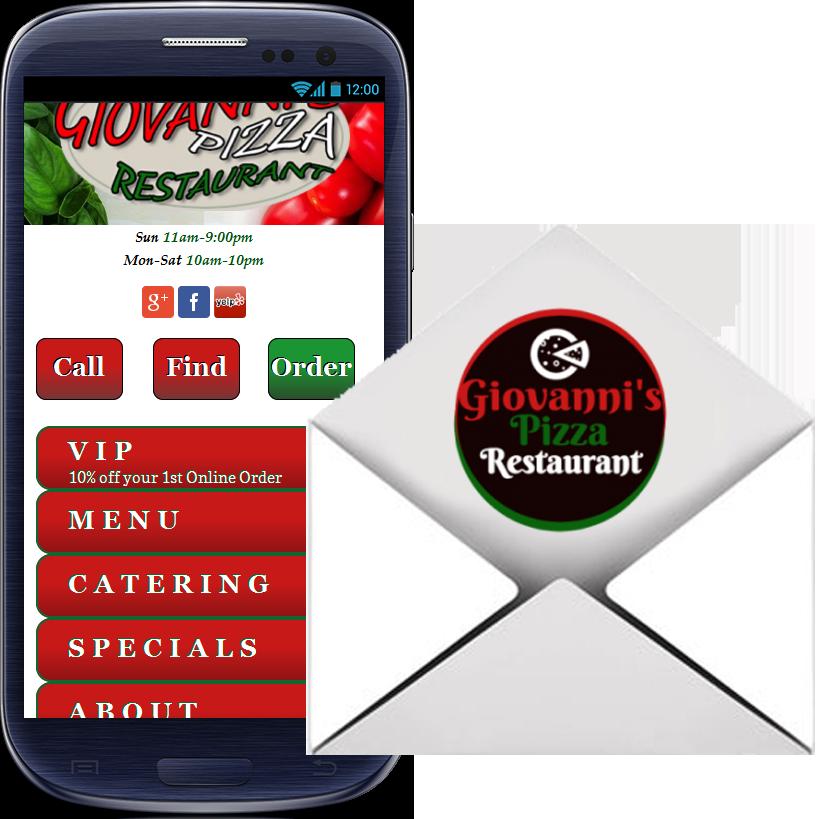 Pizza Gio Phone